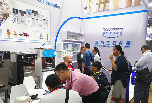 Shenzhen Oceanpower Eco Food Participated in the 125th Canton Fair and Achieved Great Success