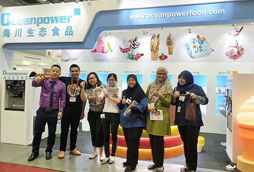 Oceanpower Eco Food Tech Co., Ltd. Attends the 19th Malaysia International Food and Beverage Trade Fair (2018 MIFB)