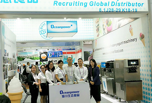 Oceanpower Ecological Food technology Co,Ltd attends the 122nd Canton Fair