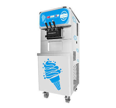 Soft Serve Ice Cream Machine Twin Twist Ice Cream Maker